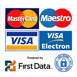 Payment Methods that we accept is FIRSTDATA